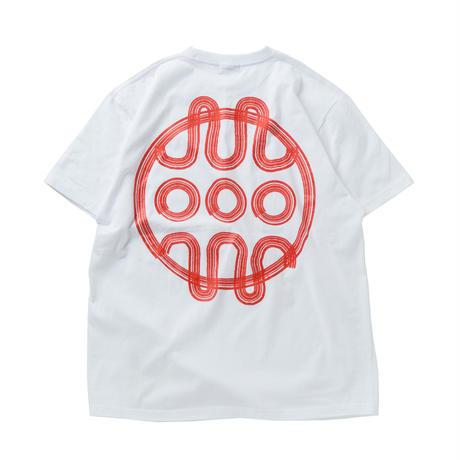 HEDWiNG Hebraea Logo Bigshilhouette T-shirt White