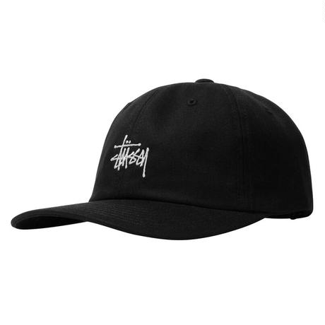 STUSSY STOCK LOW PRO CAP BLACK