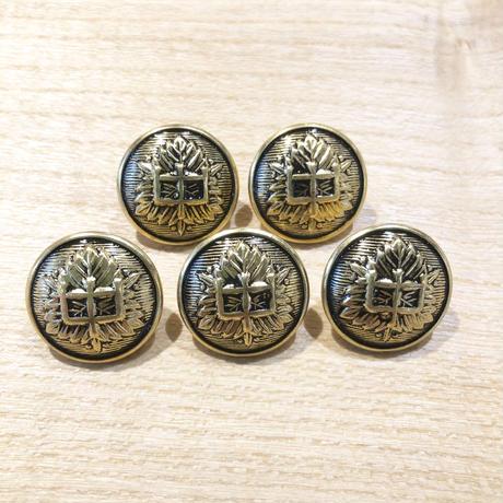 富士中学校 学ラン用フロントボタン5個セット