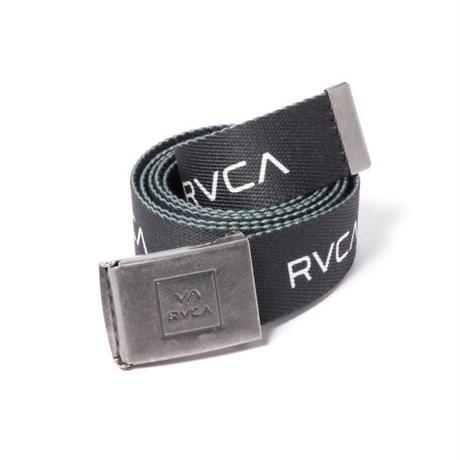 RVCA RVCA WEB BELT BLACK