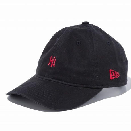 【キッズ】NEW ERA YOUTH 9TWENTY 2トーンストラップ ニューヨーク・ヤンキース ミニロゴ ブラック × ラセット