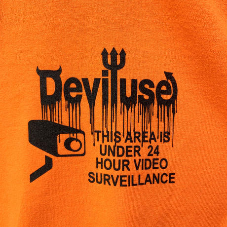 Deviluse CCTV L/S T-Shirts Orange
