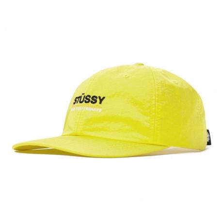 STUSSY  NYLON TASLAN LOW PRO CAP YELLOW