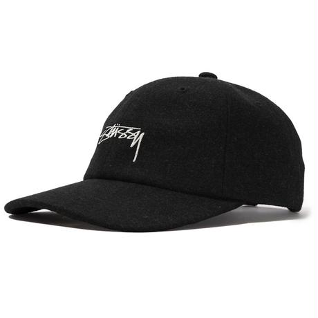 STUSSY SUITING LOW PRO CAP CHARCOAL