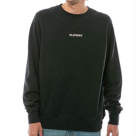 ELEMENT SIZE POP WASHED CREW BLACK