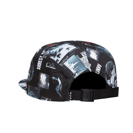 HUF HEADLINES VOLLEY HAT BLACK