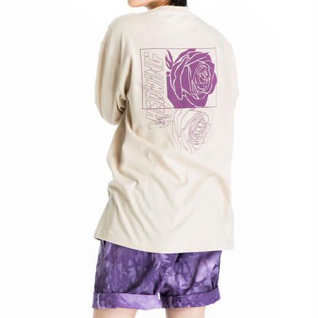 HEDWiNG Rose Longsleeve T-shirt Sandbeige