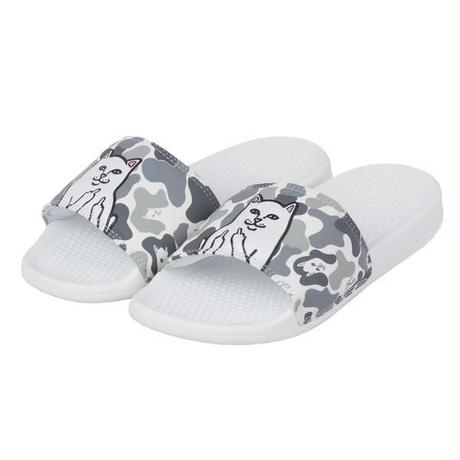 RIPNDIP LORD NERMAL SLIDES WHITE CAMO