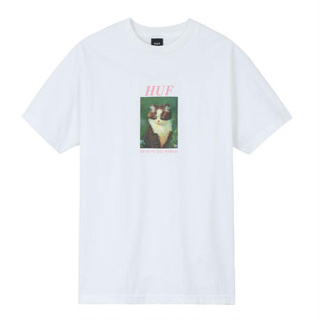HUF LOST S/S TEE WHITE
