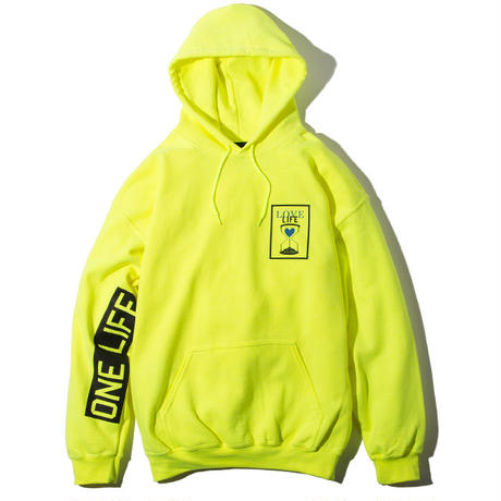 Deviluse Love Life Pullover Hooded Neon Green