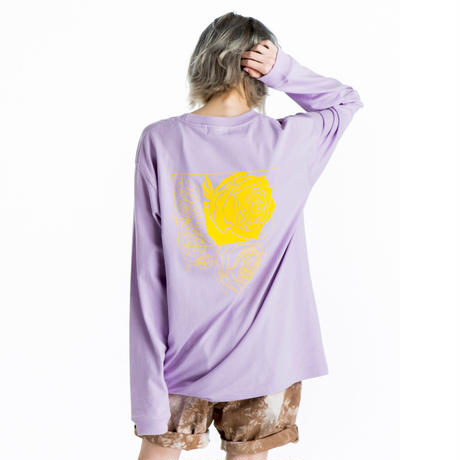 HEDWiNG Rose Longsleeve T-shirt Lavender
