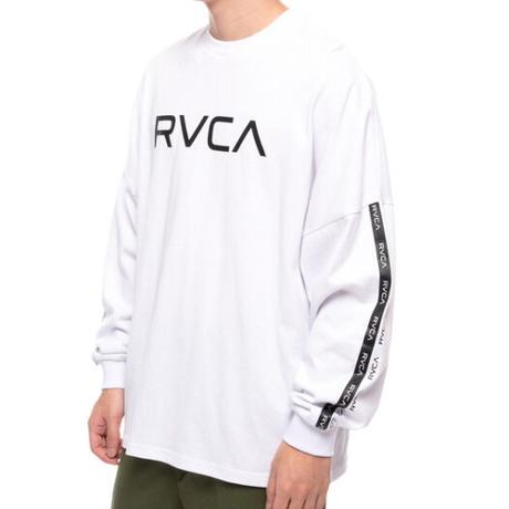 RVCA BIG RVCA L/S TEE WHITE