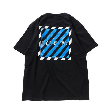 HEDWiNG Stripe Box T-shirt Black