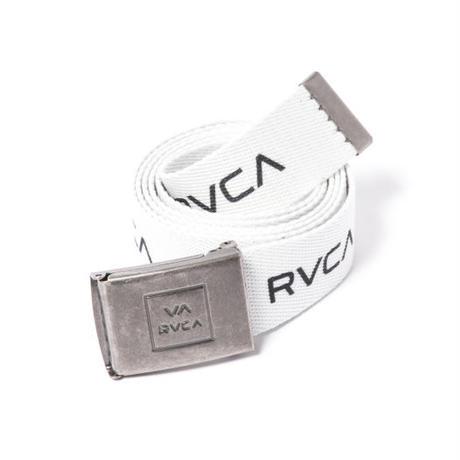 RVCA RVCA WEB BELT WHITE