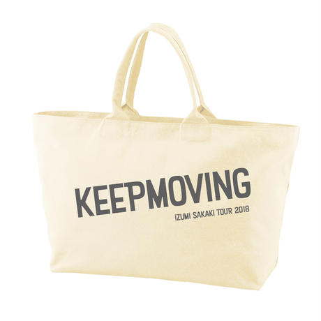 KEEP MOVING Big tote