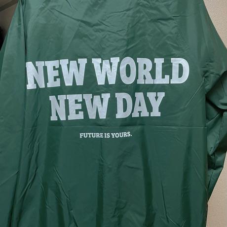 New world New day Stadium Jumper (green)