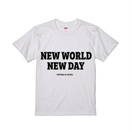 New world New day T-shirts(white)