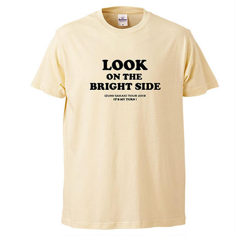 LOOK ON THE BRIGHT SIDE T-shirts(natural)