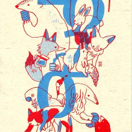 2020どうぶつカレンダー| 2020 animal calendar