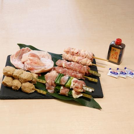 阿波尾鶏やきとりセット(15本入)