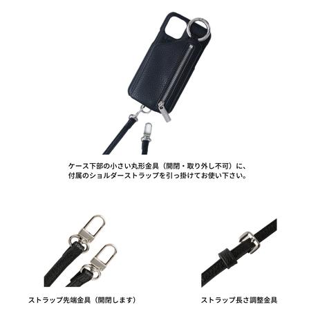 ajew cadenas zipphone case shoulder YELLOW