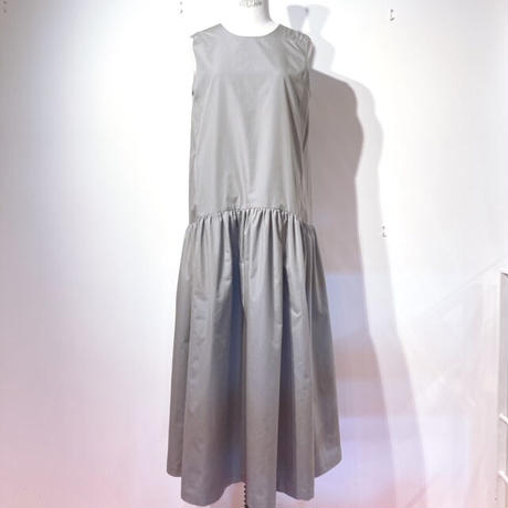 LES YEUX REVERSIBLE DRESS GREY×LIGHT GREY ,LIGHT BLUE