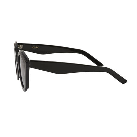 A.D.S.R.  RITENOUR 01 Clear Gray & Shiny Black