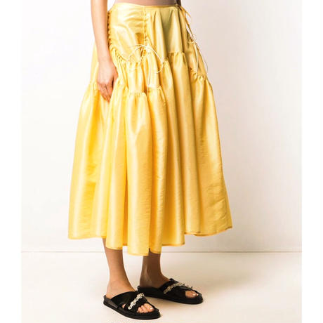 CECILIE BAHNSEN LILLY SKIRT CANARY