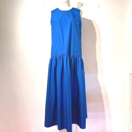 LES YEUX REVERSIBLE DRESS BLUE×WHITE BLACK