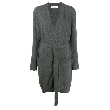 Chinti and Parker THE LONG CARDIGAN GREY