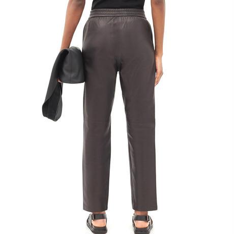 CO  LEATHER PANTS   BLACK
