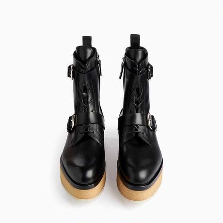 PIERRE HARDY   COMBAT BOOTS BLACK