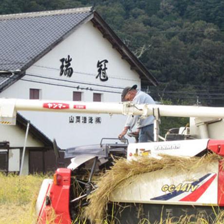 瑞冠 純米 合鴨農法米 720ml