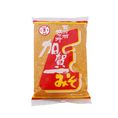 ウメサ 上撰味噌 半ずり(1Kg袋)