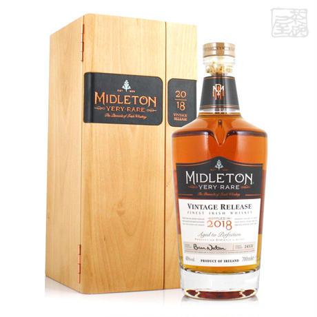 ミドルトン ヴェリーレア 2018リリース 40% 700ml 並行 アイリッシュウイスキー