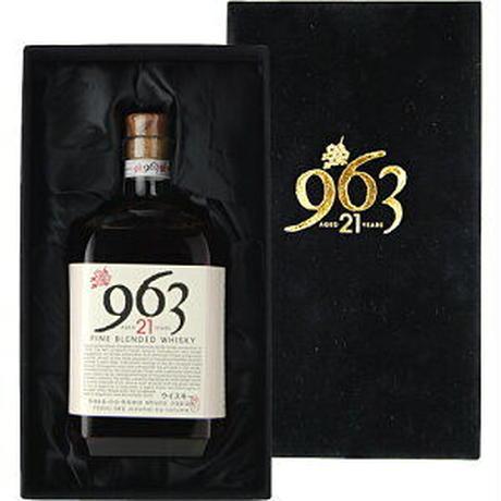 地ウイスキー 963 (郡山市)ブレンデッドウイスキー 21年 700ml