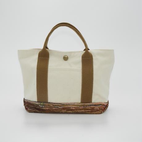 彩き織トートバッグ カーキ