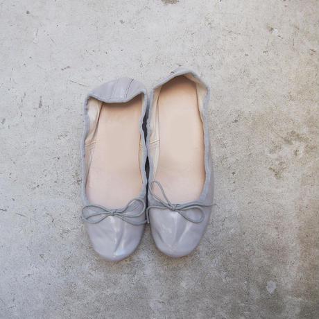 受注発注【8月末〜9月上旬発送】ballet shoes ライトグレー