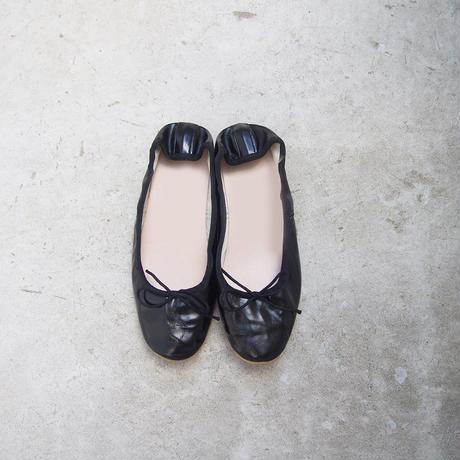 受注発注【8月末〜9月上旬発送】ballet shoes 黒