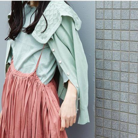 ★【3月中旬発送予定】懐古的カーディガン mint