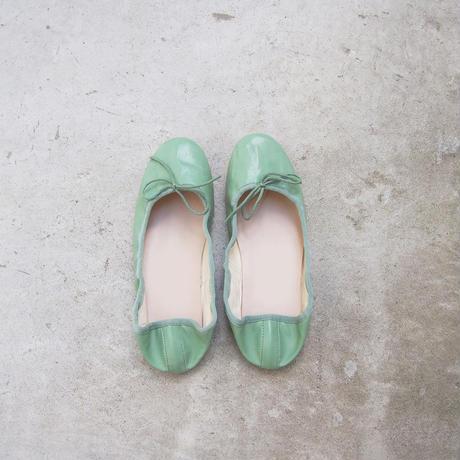 受注発注【8月末〜9月上旬発送】ballet shoes ミント