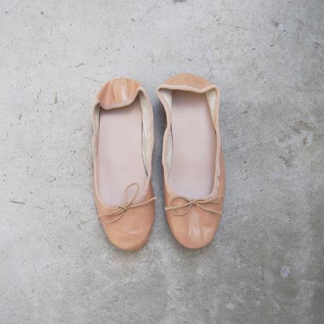 受注発注【8月末〜9月上旬発送】ballet shoes ベージュ
