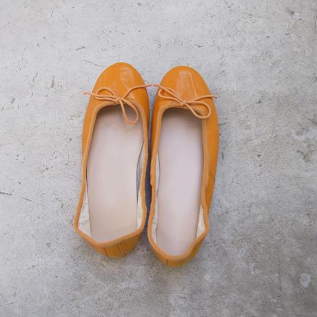 受注発注【8月末〜9月上旬発送】ballet shoes 黄色