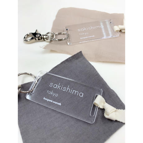 sakishima tokyo acrylic key charm