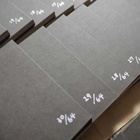 【手製本・作品集】「いまを生きるための12の方法」-12 WORDS TO LIVE YOUR LIFE-