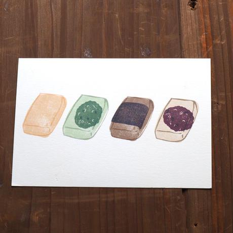 おもちポストカード(1枚)