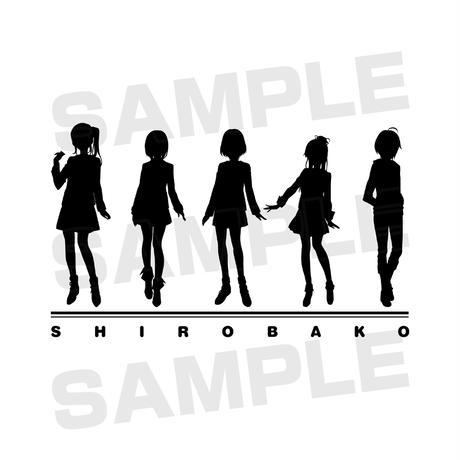 「SHIROBAKO」パーカー【メンズ・Mサイズ】