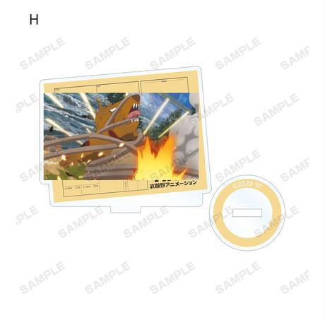 空中強襲揚陸艦SIVA トレーディングアクリルスタンド(単位/単品)