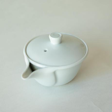 朝日焼 白磁宝瓶 櫻井焙茶研究所特別仕様