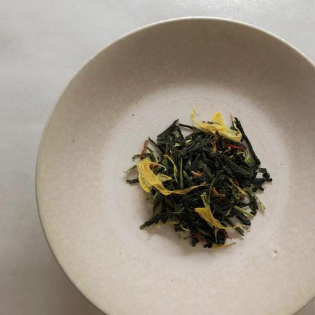 No.327 煎茶 菊・橘花・紅花のブレンド
